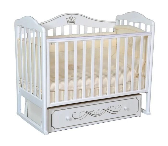 Картинка для Детская кроватка Антел Alita 77 (универсальный маятник)
