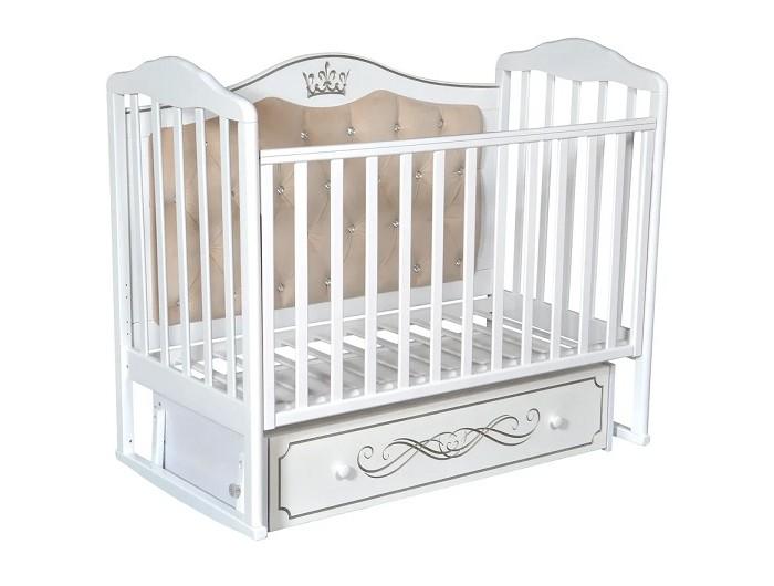 Детские кроватки Антел Alita 777 с мягкой спинкой (универсальный маятник) детские софы с мягкой спинкой