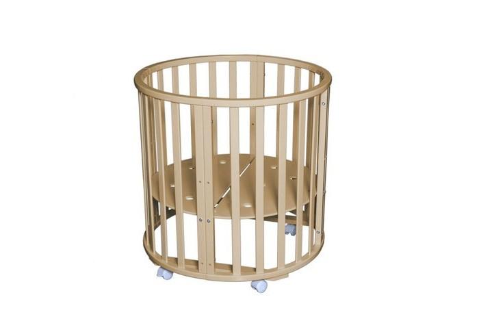 Кроватка-трансформер Антел Северянка-3/1 6 в 1 колесо