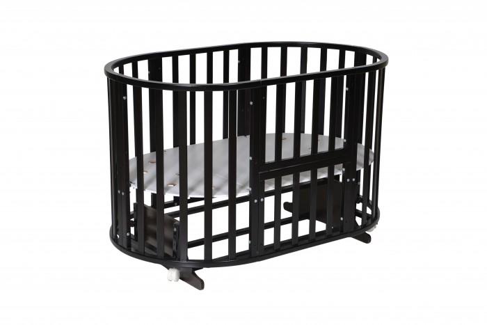 Детская мебель , Кроватки-трансформеры Антел Северянка-3 6 в 1 маятник поперечный арт: 350340 -  Кроватки-трансформеры