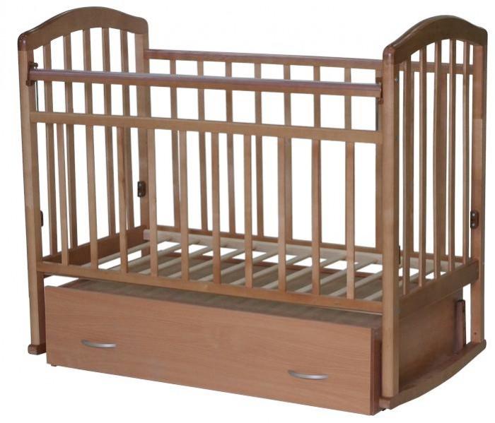 Детская кроватка Антел Алита 4 маятник поперечный
