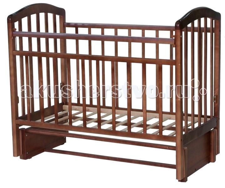 Детская кроватка Антел Алита 5 маятник продольный
