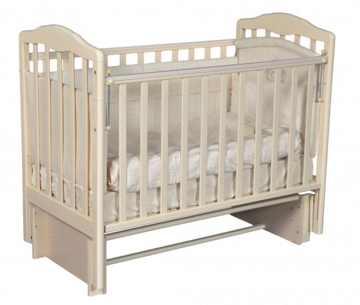 Детские кроватки Антел Алита 5 маятник продольный детские кроватки антел каролина 5 маятник продольный