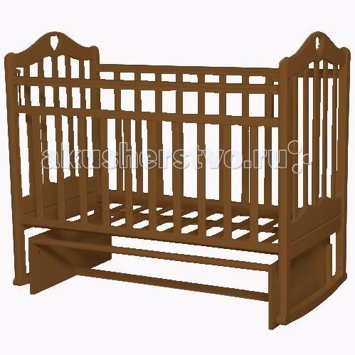 Детская кроватка Антел Каролина 3 маятник поперечный