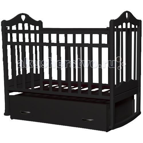 Купить со скидкой Детская кроватка Антел Каролина 4 маятник поперечный