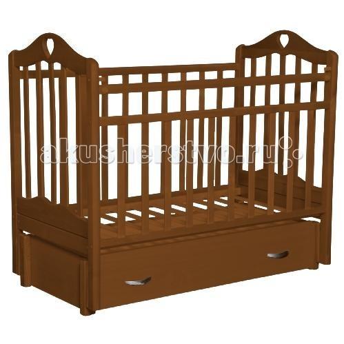 Детские кроватки Антел Каролина 6 маятник продольный