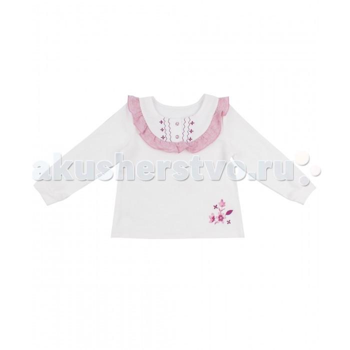 Джемперы, свитера, пуловеры Апрель Джемпер для девочки ДДД242067 Клюква в сахаре