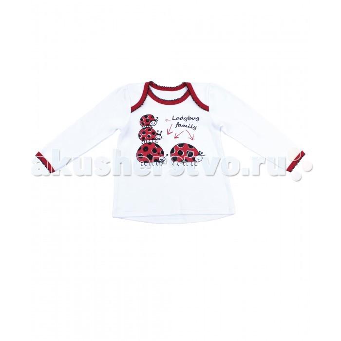 Джемперы, свитера, пуловеры Апрель Джемпер для девочки ДДД729067 Божья коровка джемперы cudgi джемпер