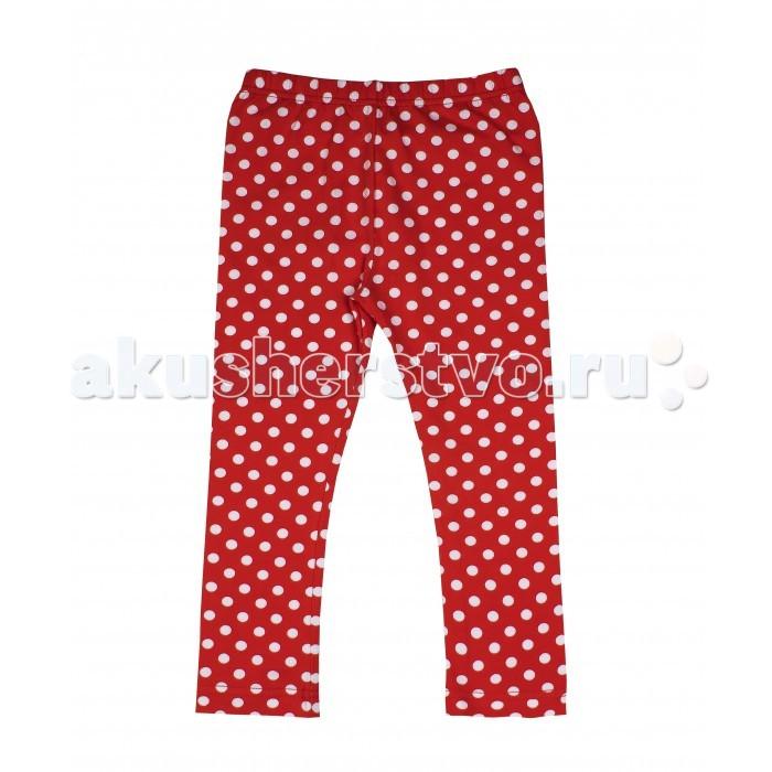 Брюки, джинсы и штанишки Апрель Леггинсы для девочки ДРЛ43 Божья коровка