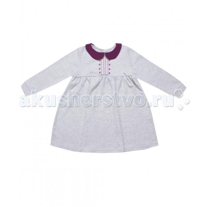 Детские платья и сарафаны Апрель Платье для девочки ДПД082070 Клюква в сахаре