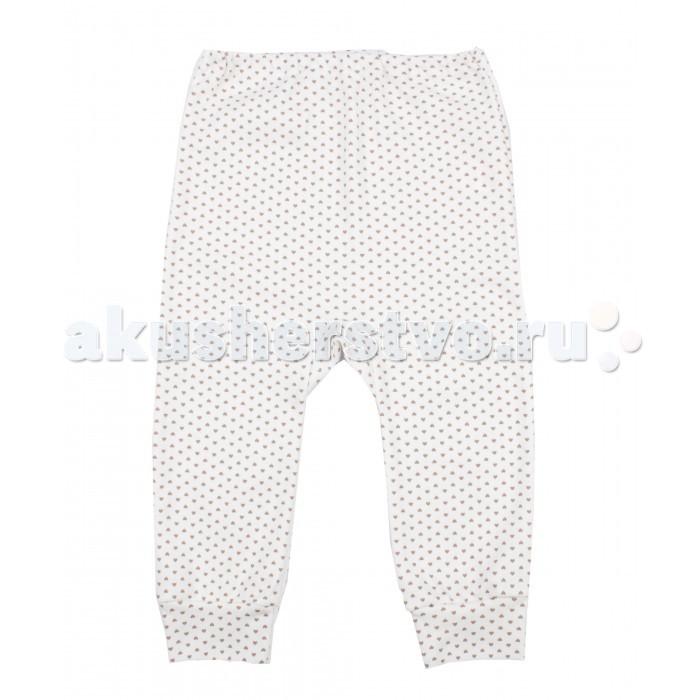 Брюки, джинсы и штанишки Апрель Штанишки ЯПК025067н Полоски и сердечки