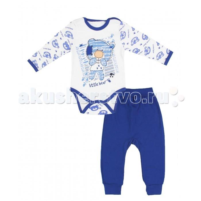 Комплекты детской одежды Апрель Комплект (боди и штанишки) Медведик апрель комплект одежды