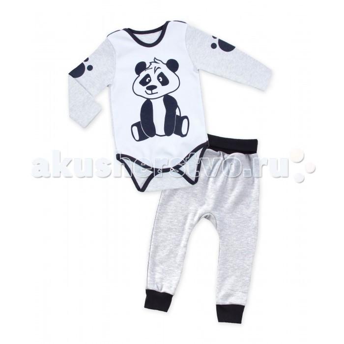 Комплекты детской одежды Апрель Комплект (боди и штанишки) Панда апрель комплект одежды