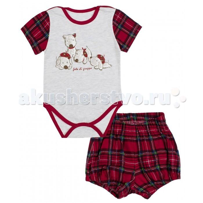Комплекты детской одежды Апрель Комплект (боди, шорты) Шотландские песики апрель комплект одежды