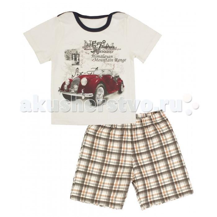 Комплекты детской одежды Апрель Комплект (футболка, шорты) Марка-люкс апрель комплект одежды