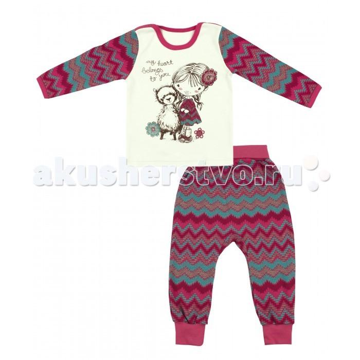 Комплекты детской одежды Апрель Комплект (лонгслив и штанишки) Кочевница апрель комплект одежды