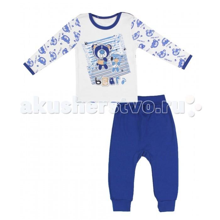 Комплекты детской одежды Апрель Комплект (лонгслив и штанишки) Медведик апрель комплект одежды