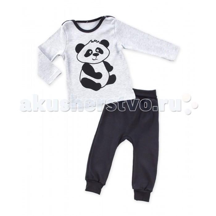 Комплекты детской одежды Апрель Комплект (лонгслив и штанишки) Панда апрель комплект одежды