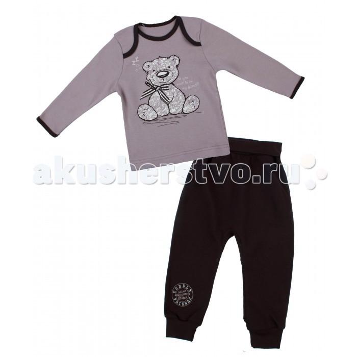 Комплекты детской одежды Апрель Комплект (лонгслив и штанишки) Верный друг апрель комплект одежды