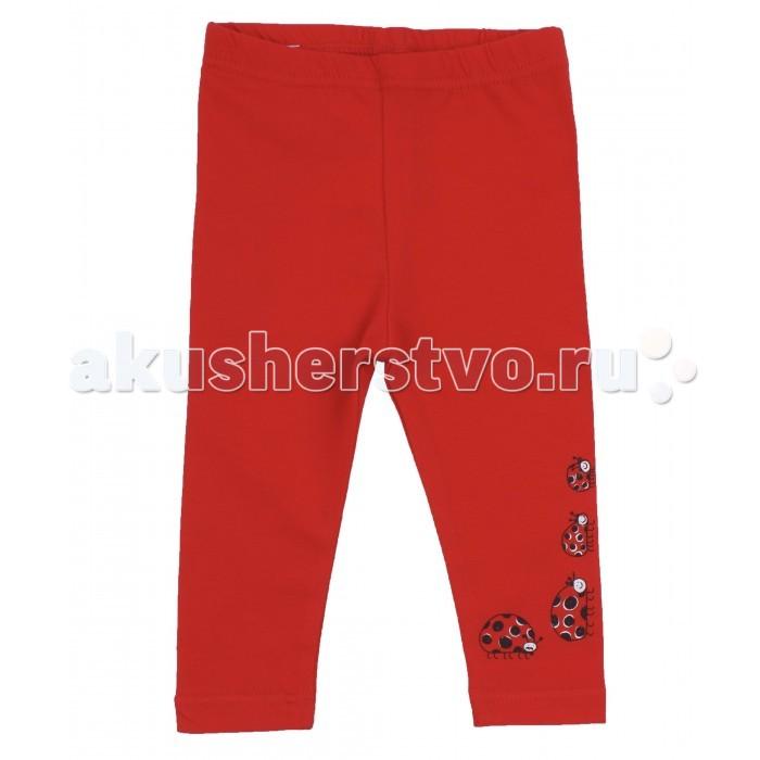 Брюки, джинсы и штанишки Апрель Рейтузы Божья коровка