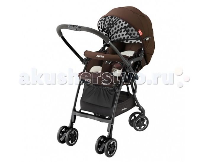 Прогулочная коляска Aprica Luxuna CTS ADLuxuna CTS ADПрогулочная коляска Aprica Luxuna CTS AD с автоматической блокировкой вращения колес.  Cъемный матрасик-вкладыш, благодаря которой коляску можно использовать с удобством как с анатомическими вкладышами для новорожденных, так и с переноской-кенгуру. Очень легкая коляска с перекидной ручкой и капюшоном, раскладывающимся до бампера. Невероятно легкая и компактная, вес коляски всего 5.7 кг. Высокое сиденье 56 см от земли. Коляска самостоятельно и компактно стоит в сложенном виде. Коляска предназначена для использования с рождения. Имеется анатомический вкладыш для младенца, защищает и поддерживает в правильном положении головку и тело новорожденного. Мягкое зефирное сидение с системой анти-шок - защита от тряски при езде. Впервые в коляске Luxuna используется уникальный запатентованный материал Silkyair, который легко снимается, стирается и быстро сохнет (новое поколение Breathair, но с меньшим весом), обладает исключительной способностью поглощения вибрации и паропроницаемостью. С таким матрасиком Вы легко можете поддерживать чистоту в коляске Вашего малыша. Большой капюшон с вентилируемыми вставками, можно трансформировать в тент от солнца. Капюшон отражает 99% УФ лучей. На обратной стороне сидения имеется специальный отражатель, оберегающий от солнечных и тепловых излучений дорожного покрытия, предотвращая перегрев малыша. Такая система терморегуляции позволяет поддерживать оптимальную температуру тела ребенка при любой погоде. Пятиточечные ремни безопасности регулируются по высоте в зависимости от роста ребенка, легко трансформируются в трехточечные. Телескопическая регулируемая подножка. 4 пары поворотных колес с возможностью фиксации- Запатентованная система, благодаря которой при перекидывании ручки передние колеса автоматически освобождаются и становятся поворотными, а задние фиксируются. Коляска с перекидной ручкой позволяет сориентировать малыша по ходу или против хода движения для удобства родителей. Специа