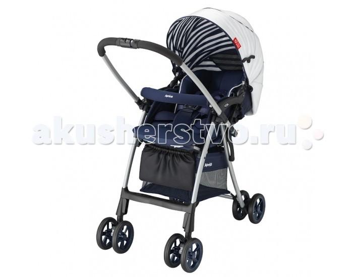 Прогулочная коляска Aprica Luxuna Light CTSLuxuna Light CTSПрогулочная коляска Aprica Luxuna Light CTS - очень лёгкая, маневренная, надёжная, обеспечивает максимальное удобство и комфорт для мамы и малыша во время прогулок. Коляска - гибрид модели Flyle и Luxuna. Коляска с перекидной ручкой позволяет сориентировать малыша по ходу или против хода движения для удобства родителей.  Особенности: Невероятно легкая и компактная, вес коляски всего 4.9 кг Высокое сиденье 53 см от земли, защищает малыша от теплового излучения земли, особенно асфальта. Выше от поверхности воздух чище. Помимо прочего, с высоким сиденьем папам и мамам легче сажать малыша в коляску и вынимать из нее Коляска складывается одной рукой, стоит в сложенном виде, очень компактна в сложенном виде Анатомический вкладыш для младенца, который защищает и поддерживает в правильном положении головку и тело новорожденного Мягкое зефирное сидение с системой анти-шок - защита от тряски при езде Впервые в коляске Aprica CTS используется уникальный запатентованный материал Silkyair, который легко снимается, стирается и быстро сохнет (новое поколение Breathair, но с меньшим весом), обладает исключительной способностью поглощения вибрации и паропроницаемость С таким матрасиком Вы легко можете поддерживать чистоту в коляске Вашего малыша Большой капюшон с вентилируемыми вставками, можно трансформировать в тент от солнца. Капюшон отражает ультрафиолетовые лучи На обратной стороне сидения имеется специальный отражатель, оберегающий от солнечных и тепловых излучений дорожного покрытия, предотвращая перегрев малыша. Такая система терморегуляции позволяет поддерживать оптимальную температуру тела ребенка при любой погоде Пятиточечные ремни безопасности регулируются по высоте в зависимости от роста ребенка, легко трансформируются в трехточечные Телескопическая регулируемая подножка 2 пары поворотных колес с возможностью фиксации Специальная система амортизации и крепления колес - колеса легко преодолевают любые препятствия
