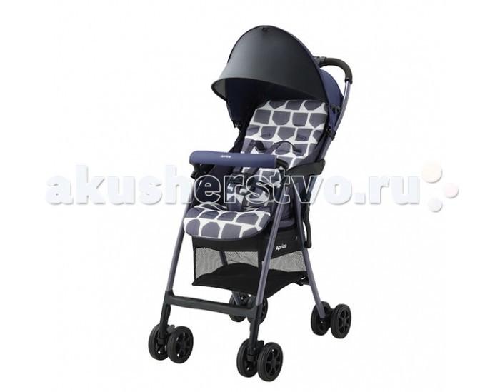 Прогулочная коляска Aprica Magical Air PlusMagical Air PlusНевероятно легкая коляска Magical Air Plus от Aprica идеальна для долгих прогулок и совершения покупок.  Уникально малый вес – всего 3,3 кг Коляска предназначена для детей с 7 месяцев до 3 лет, она легко складывается и раскладывается одним нажатием кнопки Очень компактна в сложенном виде Прочная рама дает возможность длительного использования Солнцезащитный козырек защищает от УФ лучей Удобный съемный бампер Просторное, широкое сидение  Сдвоенные пары колес  Отличия от модели Magical Air: более широкие колеса увеличенного диаметра более высокая спинка с терморегуляцией солнцезащитная сетка увеличенного размера  Комплектация Прогулочный блок Рама 5-точечные внутренние ремни  Особенности:  Вес ребенка до 15 кг Тип складывания «книжка» Регулировка спинки есть, 118-135° Внутренние ремни 5-точечные Съемные подушки, можно стирать Корзина для вещей сетчатая Размеры в разложенном виде (Ш&#215;Д&#215;В)46&#215;80&#215;97 см Размеры в сложенном виде (Ш&#215;Д&#215;В)46&#215;27&#215;97 см Внутренняя ширина сидения 32 см Вес коляски 3,3 кг<br>