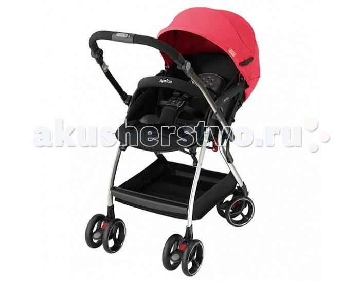 Прогулочная коляска Aprica OptiaOptiaПрогулочная коляска Aprica Optia - это первая коляска, которая умеет складываться одной рукой из обоих положений (когда ребенок едет в коляске лицом или спиной по ходу движения).  Особенности: коляска предназначена с рождения до 3 лет большой купол капюшона раскладывается до бампера - отличная защита от ветра, дождя и УФ лучей регулируемая спинка полностью раскладывается, обеспечивая ребенку удобное и естественное горизонтальное положение, что делает возможным использование коляски с самых первых дней жизни малыша в сложенном виде имеет устойчивое положение пятиточечный ремень безопасности коляска оснащена термовентиялицей, способной контролировать температуру тела подставка под ножки бампер с мягкой тканевой накладкой сиденье широкое 36 см, формы WM, с анатомическими вкладышами для новорожденных – благодаря чему исключается смещение, малыш принимает правильное и комфортное положение, находясь в коляске иденье и капюшон коляски выполнены из безопасных дышащих материалов съемный 4-слойный матрасик. Перекидная автоматическая ручка. Запатентованная система, благодаря которой при перекидывании ручки передние колеса автоматически освобождаются и становятся поворотными, а задние фиксируются. Коляска с перекидной ручкой позволяет сориентировать малыша по ходу или против хода движения для удобства родителей. Высокое сиденье 54 см от пола защищает малыша от теплового излучения земли, особенно асфальта. Выше от поверхности воздух чище. Помимо прочего, с высоким сиденьем папам и мамам легче сажать малыша в коляску и вынимать из нее. Дышащее сиденье обеспечивает самую лучшую воздухопроницаемость На раме и основании сиденья используются сетчатые материалы. Съемное основное покрытие изготовлено с использованием сетчатого материала W Russell, расположенного там же, где и вентиляционные отверстия в области спины - в тех местах, где малыши, как правило, обильно потеют. Эта технология защищает малыша от чрезмерного тепла и влаги, которые могут нак