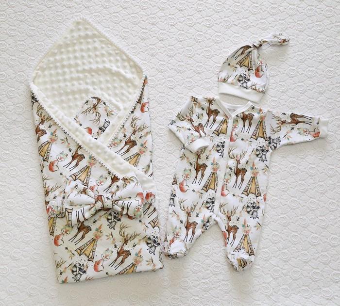 Argo Baby Комплект на выписку для новорожденного Сказка 0303/КШ