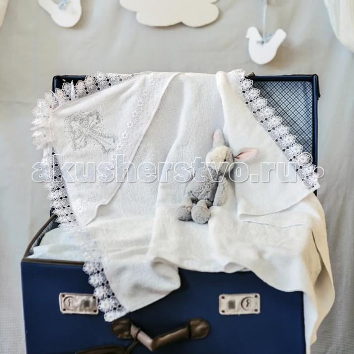 Крестильная одежда Арго Полотенце для крещения 80х100 см крестильная одежда арго уголок с оборочкой 009 2н