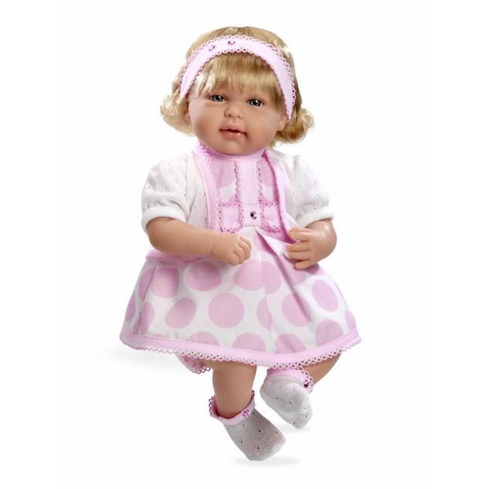 Arias Мягкая кукла Elegance с кристаллами Swarowski 45 см Т11133