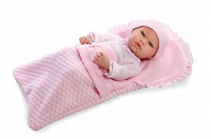 Купить Куклы и одежда для кукол, Arias Мягкий пупс Elegance в конверте 42 см