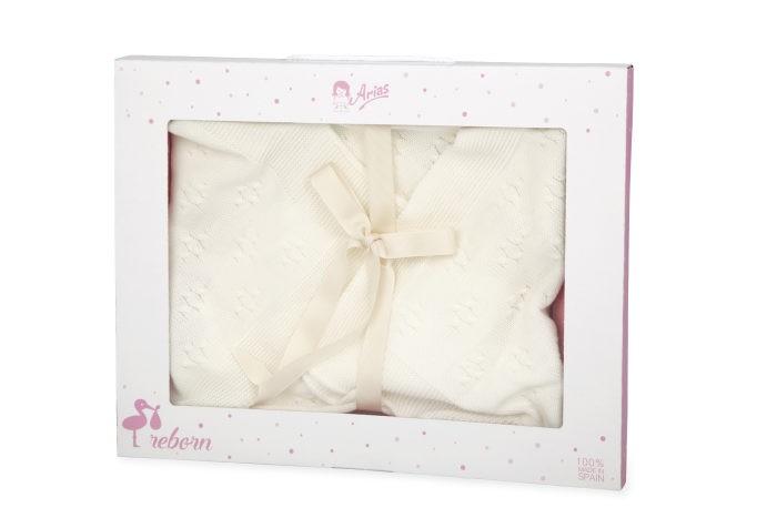 Фото - Куклы и одежда для кукол Arias Одеяло-конверт для куклы 54х68 см arias elegance leo 45 cм одеяло переноска розовый