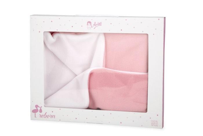Фото - Куклы и одежда для кукол Arias Одеяло-конверт для куклы 56х71 см arias elegance leo 45 cм одеяло переноска розовый