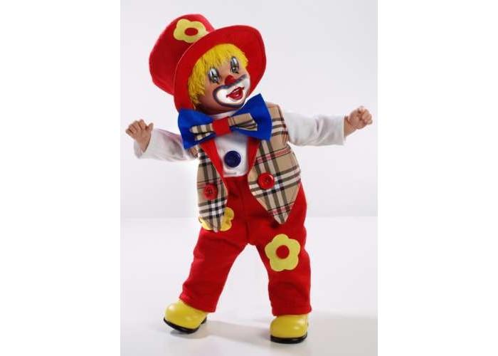 Arias Клоун 50 смКуклы и одежда для кукол<br>Arias Клоун 50 см  Клоун от бренда Arias, который всем своим внешним видом демонстрирует радость, веселье и легкое безумие, в хорошем смысле этого слова.   Весь образ куклы изобилует яркими цветами, которые непременно привлекут к себе внимание, 50 см.