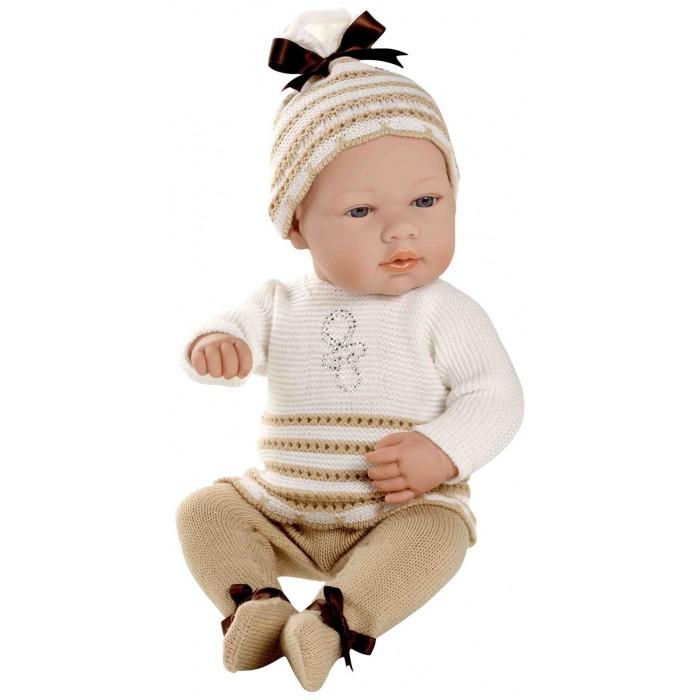 Куклы и одежда для кукол Arias Кукла-пупс в костюмчике со стразами Swarowski 42 см куклы и одежда для кукол bayer малышка первый поцелуй 42 см