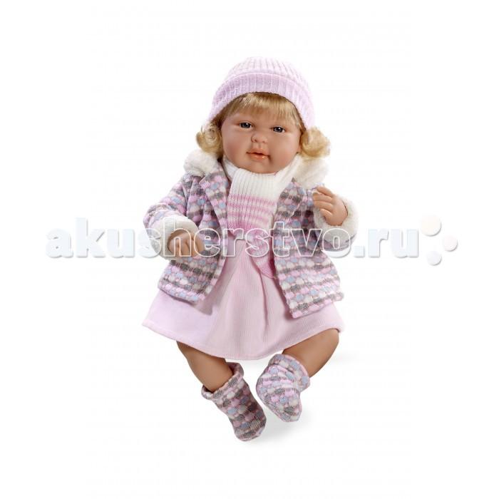 Arias Кукла Elegance 45 смКукла Elegance 45 смArias Кукла Elegance 45 см  Куклы Arias - это удивительный микс долгой семейной традиции, необычайно красивого дизайна, и стремления создавать лучший в своей категории продукт. Талантливые мастера испанской фабрики Arias создали премиальную коллекцию кукол под названием Elegance (Элеганс) - коллекцию, вдохновленную самой нежностью и элегантностью.  Весь процесс производства Elegance взлелеян с величайшей заботой, начиная от момента идеи дизайна каждого компонента и тщательного выбора самых качественных и натуральных материалов, до создания разнообразных кукольных лиц высочайшей детализации, и так сквозь все этапы до создания шедевра в мире кукол.  Всё для того, чтобы 100%-ный Европейский продукт получился непревзойденным, уникальным, высочайшего качества ручной работы. Эта светловолосая кукла с мягконабивным телом, ручками, ножками и головой из винила размером 42 см, в теплой курточке, шапочке, шарфике. Функционал - смех, соска в комплекте  Возраст: от 3 лет Комплект: кукла, курточка, шапочка, шарфик. Наличие батареек: входят в комплект. Тип батареек: 3 x AG13 / LR44 (миниатюрные). Высота куклы: 45 см.<br>