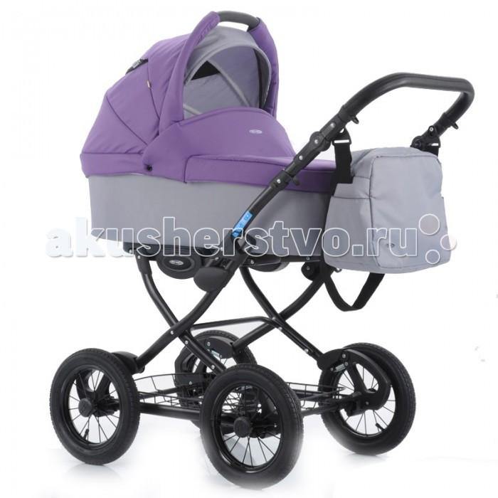 Коляска Aro Team Cocoline 2 в 1Cocoline 2 в 1Коляска Aro Team Cocoline — классическая коляска на больших надувных колесах с хорошей амортизацией на пружинах.  Для новорожденных в первую очередь на раму устанавливается люлька, которая глубокая и широкая, что позволит использовать ее в зимнее время.  Когда ваш малыш научится самостоятельно сидеть, вы снимаете люльку и устанавливаете прогулочный блок, в котором спинка также наклоняется до горизонтального положения и ваш ребенок комфортно сможет спать во время прогулок.   Особенности:  амортизация на всех колесах люлька непродуваемая, широкая — 38 см, и длинная — 78 см в люльке подголовник регулируется, матрасик снимается капюшон регулируется бесшумно прогулочный блок реверсивный, его можно ставить в двух направлениях подножка регулируется, удлиняя спальное место на подножке специальное покрытие (не пачкается коляска) четыре положения спинки удобный и практичный ножной тормоз, педального типа корзина для покупок удобная и вместительная<br>
