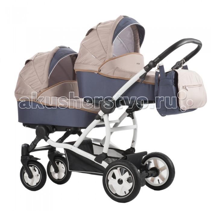 Детские коляски , Коляски для двойни и погодок Aroteam Коляска для двойни Twinat Dou арт: 320164 -  Коляски для двойни и погодок