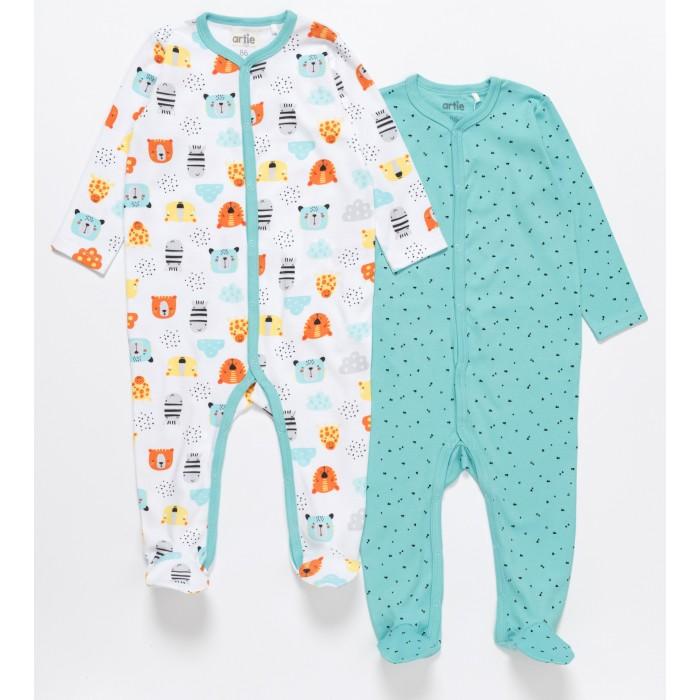 Купить Боди, песочники, комбинезоны, Artie Комбинезон для мальчиков Basic Babywear 2AK-605m 2 шт.