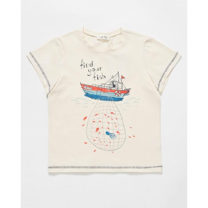 Artie Футболка для мальчика Sailorman BFk-004 - Акушерство.Ru