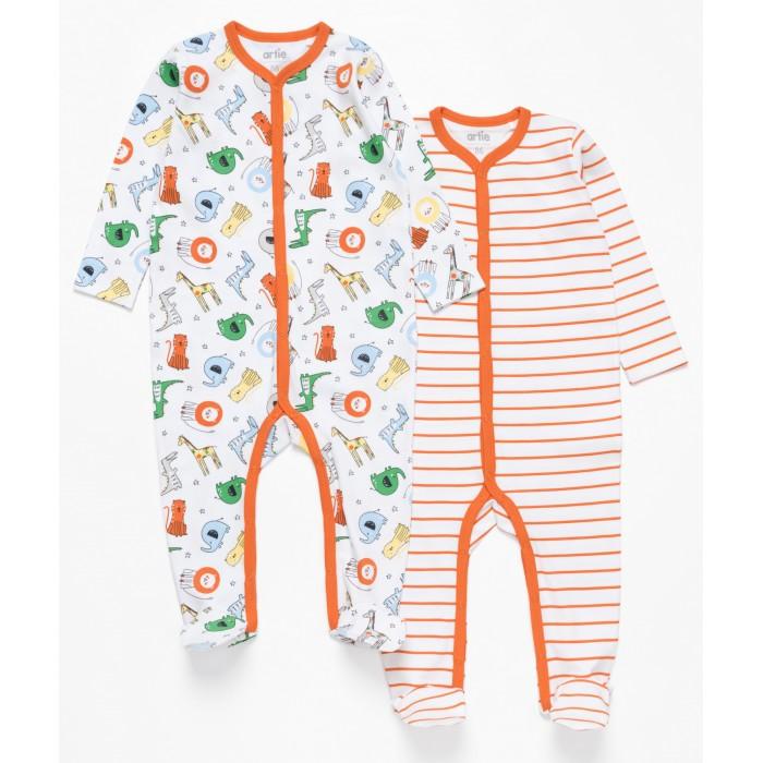Купить Боди, песочники, комбинезоны, Artie Комбинезон для мальчиков Basic Babywear Африка 2AK-605m 2 шт.