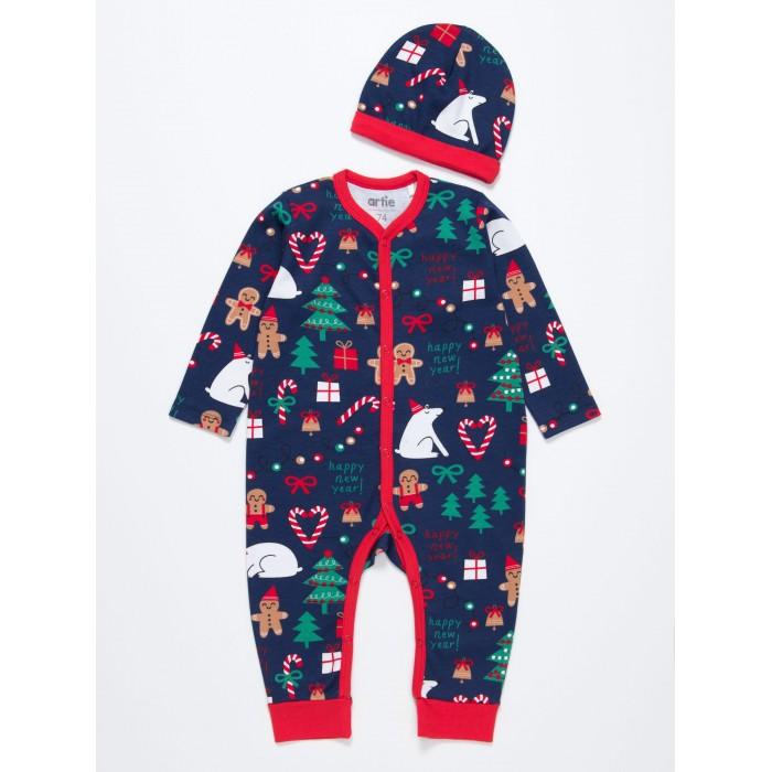 Купить Комплекты детской одежды, Artie Комплект детский (комбинезон, шапочка) AKt2-595dn