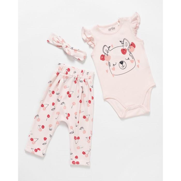 Купить Комплекты детской одежды, Artie Комплект для девочки Cherry AKt3-238d