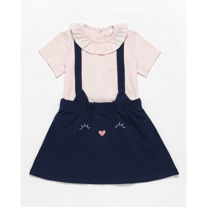 Купить Комплекты детской одежды, Artie Комплект для девочки (кофта, сарафан) Panda AKt2-430d