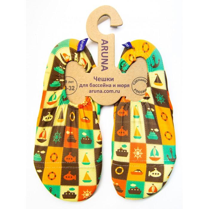 Обувь и пинетки Aruna Чешки для бассейна и моря Корабли набор азбука тойс музыка ветра пчелы мв 0001