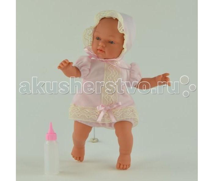 ASI Кукла Гугу 27 смКукла Гугу 27 смКукла, размер 27 см, тело мягконабивное, голова, руки и ноги из винила, без волос, в розовом или голубом костюмчике и чепчике, в комплекте, в красивой подарочной коробке.<br>