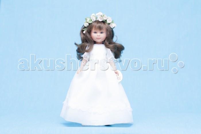ASI Кукла Селия 30 смКукла Селия 30 смКукла, размер 30 см, выполнена из винила, длинные волосы, в пышном белом платье невесты, в красивой подарочной коробке.<br>