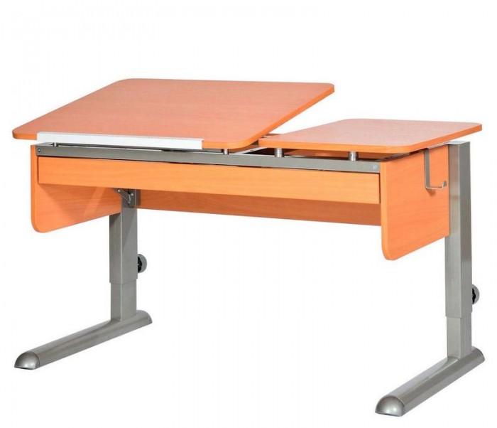 Астек Парта Твин-2 с органайзером (столешница бук)