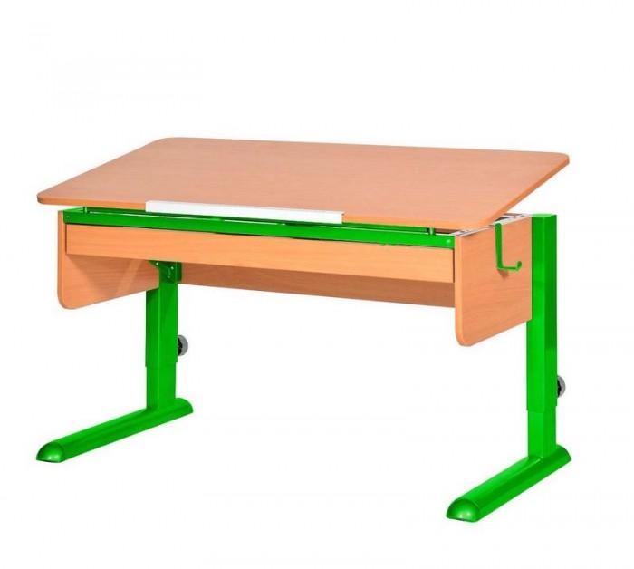 Купить Школьные парты, Астек Парта Моно-2 с органайзером (столешница бук)